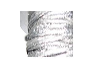 金網で包まれた黒鉛糸